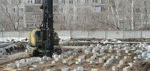 Жилой дом по ул. Овчукова,  70 Испытание свай в условиях их выпора